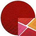 Abyss & Habidecor Bath Mat Must, 50 x 80 cm, 100% Egyptian Combed Cotton, 553 Rouge
