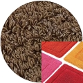 Abyss & Habidecor Bath Mat Must, 50 x 80 cm, 100% Egyptian Combed Cotton, 778 Tobacco
