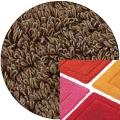 Abyss & Habidecor Badematte Must, 50 x 80 cm, 100% ägyptische Baumwolle, gekämmt, 778 Tobacco
