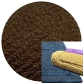 Abyss & Habidecor Badematte Must, 50 x 80 cm, 100% ägyptische Baumwolle, gekämmt, 773 Pepper
