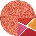 Abyss & Habidecor Badematte Must, 60 x 100 cm, 100% ägyptische Baumwolle, gekämmt, 680 Salmon