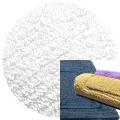 Abyss & Habidecor Badematte Reversible, 50 x 80 cm, 100% ägyptische Baumwolle, gekämmt, 100 White
