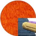 Abyss & Habidecor Badematte Reversible, 50 x 80 cm, 100% ägyptische Baumwolle, gekämmt, 611 Vibrant