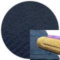 Abyss & Habidecor Bath Mat Reversible, 50 x 80 cm, 100% Egyptian Combed Cotton, 332 Cadette Blue