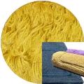 Abyss & Habidecor Bath Mat Reversible, 50 x 80 cm, 100% Egyptian Combed Cotton, 850 Safran