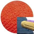 Abyss & Habidecor Badematte Reversible, 50 x 80 cm, 100% ägyptische Baumwolle, gekämmt, 590 Corail