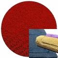 Abyss & Habidecor Badematte Reversible, 60 x 100 cm, 100% ägyptische Baumwolle, gekämmt, 553 Rouge