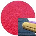 Abyss & Habidecor Badematte Reversible, 60 x 100 cm, 100% ägyptische Baumwolle, gekämmt, 570 Happy Pink