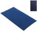 Abyss & Habidecor Badematte Bay, 60 x 100 cm, 100% ägyptische Giza 70 Baumwolle, gekämmt, 332 Cadette Blue