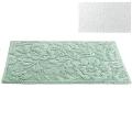 Abyss & Habidecor Badematte Brighton, 50 x 80 cm, 60% Baumwolle, gekämmt, 40% Acryl, 100 White