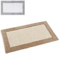 Abyss & Habidecor Badematte Origine, 60 x 100 cm, 100% ägyptische Giza 70 Baumwolle, gekämmt, 992 Platinum