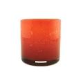 Henry Dean Vase/Windlicht Cylinder, H 15 x Ø 15 cm, Fire