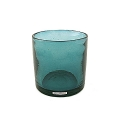 Henry Dean Vase/Windlight Cylinder, h 15 x Ø 15 cm, Lagoon