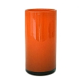 Henry Dean Vase/Windlight Cylinder, h 30 x Ø 15 cm, Mandarin