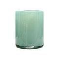 Henry Dean Vase/Windlicht Cylinder, H 17 x Ø 13 cm, Glacon