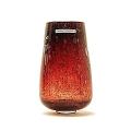 Henry Dean Vase/Windlicht Stromboli, H 17,5  x Ø 7 cm, Garnet