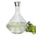 Edzard Carafe Frederick, crystal glass Platinum coated, h 26 x Ø 18 cm, capacity 2.1 l