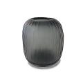 XO dsgn Vase Bola Straight, cut, h 22 x Ø 18 cm, Smoke