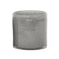 DutZ®-Collection Vase Cylinder, h 18 x Ø 18 cm, medium grey