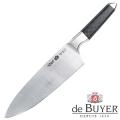 de Buyer Chefmesser, Design FK1,Edelstahl X50CrMoV15/Karbon, L Klinge/gesamt 22/40 cm