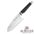 de Buyer Japanese Chef Knife, Design FK2,stainless steel X50CrMoV15/Carbon, l blade/total 15/28 cm