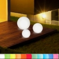 8-Seasons-Design-Light-Object, Globe, white, Ø 30 cm, Indoor/Outdoor, LED-color change/remote ctrl, CE IP44, power plug, 5 m cable