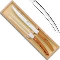 Thiers Tranchierbesteck/Vorlegebesteck in Box, L 32 cm, Edelstahl poliert