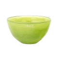 Collection DutZ® Bol en Verre, h 11 x Ø 20 cm, lime