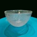 DutZ®-Collection Glasschale, H 11 x Ø 20 cm, Klar mit Bubbles
