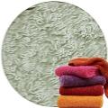 Abyss & Habidecor Super Pile Frottee-Badehandtuch, 70 x 140 cm, 100% ägyptische Giza 70 Baumwolle, 700g/m², 992 Platinum