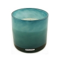 Henry Dean Candle/Wind Light Cylinder, 3 wicks, h 15 x Ø 15 cm, Lagoon