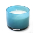 Henry Dean Candle/Wind Light Cylinder, 3 wicks, h 10 x Ø 13.5 cm, Lagoon