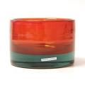 Henry Dean Vase/Windlicht Charlotte, niedrig, H 11 x Ø 16 cm, Bengali