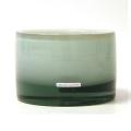 Henry Dean Vase/Windlicht Charlotte, niedrig, H 11 x Ø 16 cm, Creme