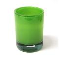 Henry Dean Vase/Windlicht Charlotte, hoch, H 17 x Ø 13 cm, Apple Green