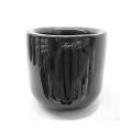 Henry Dean Bowl Gabon L Extra Thick, h 22 x Ø 20 cm, Black
