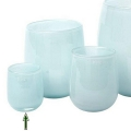 DutZ®-Collection Vase Barrel, h 13 x Ø 10 cm, light blue