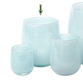 DutZ®-Collection Vase Barrel, h 24 x Ø 18 cm, light blue
