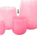 DutZ®-Collection Vase Barrel, h 18 x Ø 14 cm, fuchsia