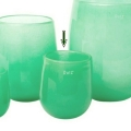 DutZ®-Collection Vase Barrel, H 18 x Ø 14 cm, Jade