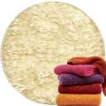 Abyss & Habidecor Super Pile Terry Cloth Guest Towel/Washcloth, 30 x 30 cm, 100% Egyptian Giza 70 Cotton, 700g/m², 101 Ecru