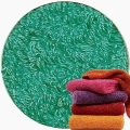 Abyss & Habidecor Super Pile Terry Cloth Guest Towel/Washcloth, 30 x 30 cm, 100% Egyptian Giza 70 Cotton, 700g/m², 302 Lagoon