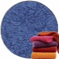 Abyss & Habidecor Super Pile Terry Cloth Guest Towel/Washcloth, 30 x 30 cm, 100% Egyptian Giza 70 Cotton, 700g/m², 304 Marina