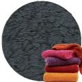 Abyss & Habidecor Super Pile Terry Cloth Guest Towel/Washcloth, 30 x 30 cm, 100% Egyptian Giza 70 Cotton, 700g/m², 307 Denim