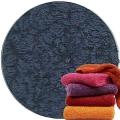 Abyss & Habidecor Super Pile Terry Cloth Guest Towel/Washcloth, 30 x 30 cm, 100% Egyptian Giza 70 Cotton, 700g/m², 332 Cadette Blue