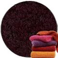 Abyss & Habidecor Super Pile Frottee-Gästetuch/Waschlappen, 30 x 30 cm, 100% ägyptische Giza 70 Baumwolle, 700g/m², 490 Purple