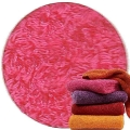 Abyss & Habidecor Super Pile Terry Cloth Guest Towel/Washcloth, 30 x 30 cm, 100% Egyptian Giza 70 Cotton, 700g/m², 570 Happy Pink