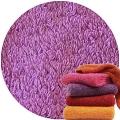Abyss & Habidecor Super Pile Terry Cloth Guest Towel/Washcloth, 30 x 30 cm, 100% Egyptian Giza 70 Cotton, 700g/m², 585 Crocus