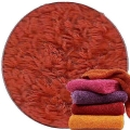 Abyss & Habidecor Super Pile Terry Cloth Guest Towel/Washcloth, 30 x 30 cm, 100% Egyptian Giza 70 Cotton, 700g/m², 603 Spicy