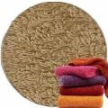 Abyss & Habidecor Super Pile Frottee-Gästetuch/Waschlappen, 30 x 30 cm, 100% ägyptische Giza 70 Baumwolle, 700g/m², 711 Taupe